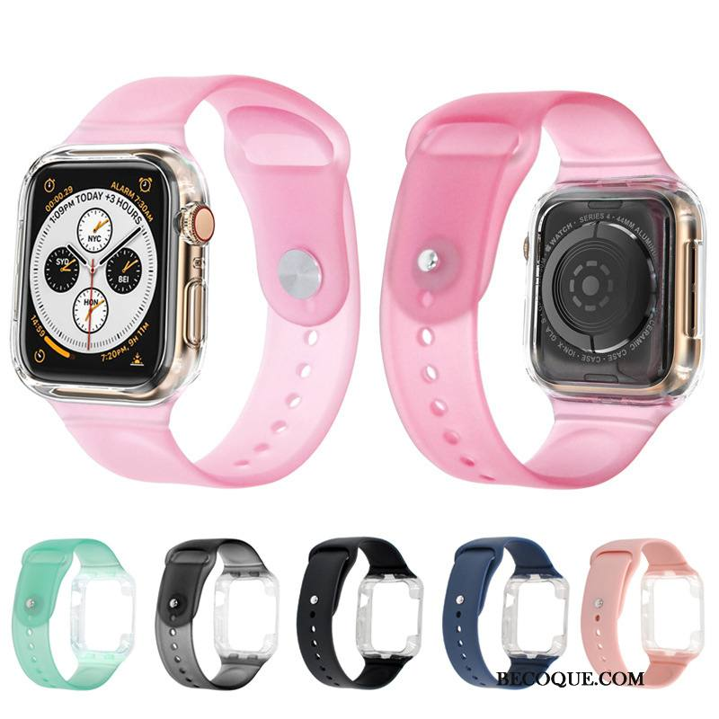 Étui Apple Watch Series 1 Silicone Pu Sport, Coque Apple Watch Series 1 Protection Vert Bicolore