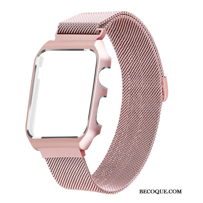 Étui Apple Watch Series 3 Protection Rose, Coque Apple Watch Series 3