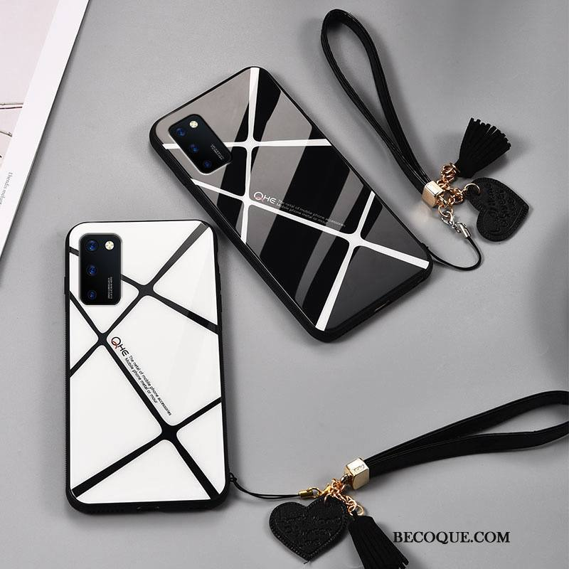 Étui Honor View30 Silicone Difficile Amoureux, Coque Honor View30 Mode Noir Verre