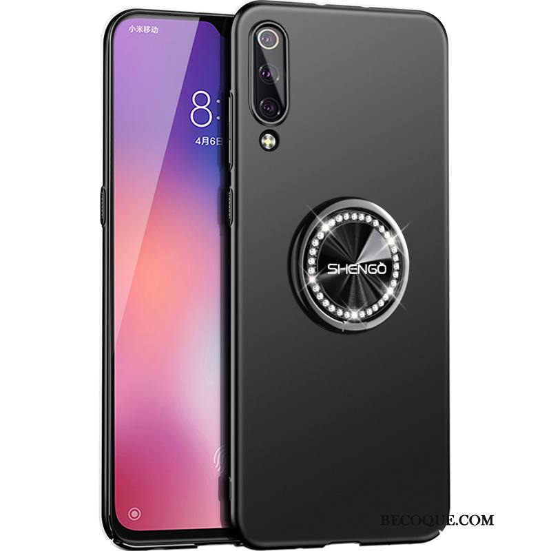 Étui Mi 9 Se Sacs Simple Pure, Coque Mi 9 Se Support Rouge Grand
