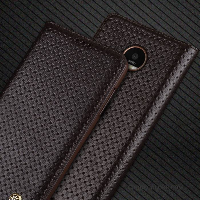Étui Moto Z Play Cuir , Coque Moto Z Play Protection