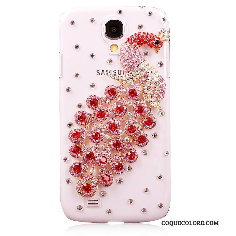 Étui Samsung Galaxy S4 Strass Rouge Nouveau, Coque Samsung Galaxy S4 Protection Tendance