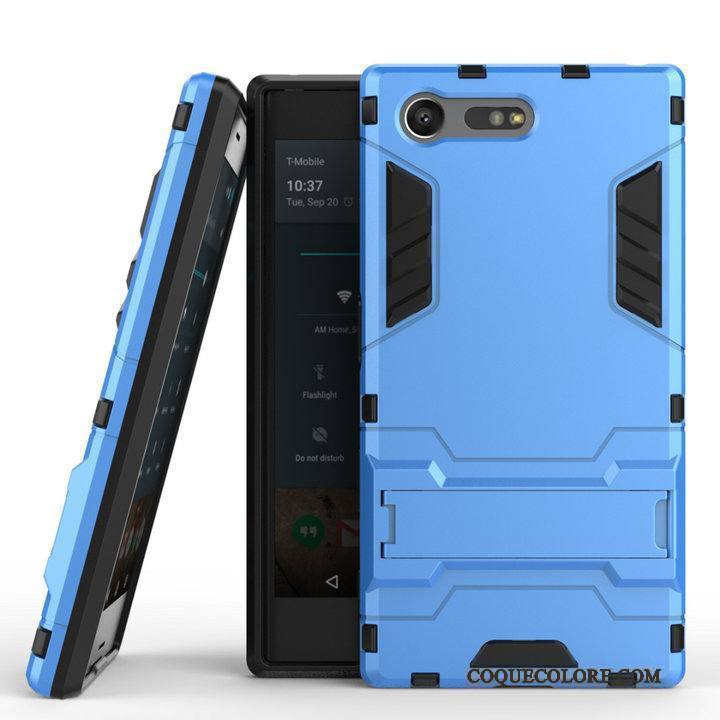 Étui Sony Xperia X Compact Protection Incassablede Téléphone, Coque Sony Xperia X Compact Bleu