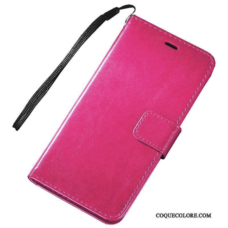 Étui Sony Xperia X Compact Support Rougede Téléphone, Coque Sony Xperia X Compact Cuir